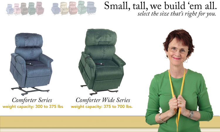 comforter Liftchairs